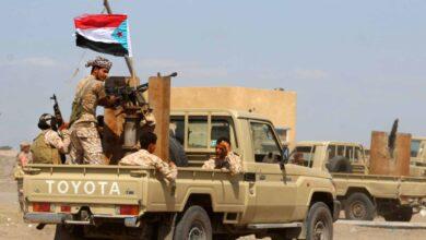 صورة القوات الجنوبية تأسر عناصر إرهابية تابعة لمليشيا الإخوان في جبهة الطرية