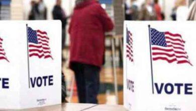 صورة انطلاق الانتخابات الأمريكية مع فتح مراكز اقتراع في مدينتين