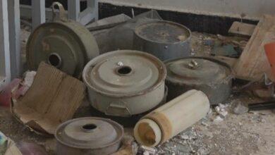 صورة مليشيا الحوثي تحول المدارس إلى مخازن للأسلحة