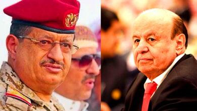 صورة فيما الحوثي يقترب من مركز مدينة مأرب.. هادي والمقدشي يكتفيان بالخطابات الرنانة والانتصارات المزيفة
