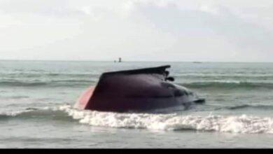 صورة وفاة 7صيادين غراقا جراء المنخفض الجوي في #حضرموت