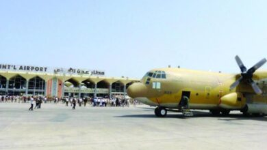 صورة عدن.. وصول طائرة سعودية تحمل شحنة أدوية لمستشفيات العاصمة