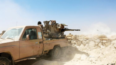 """صورة مأرب.. مليشيات الحوثي تسيطر على معسكر """"ماس"""" الإستراتيجي"""