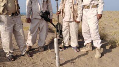 صورة #الحديدة.. إبطال مفعول صاروخ من مخلفات #الحوثيين في الخوخة
