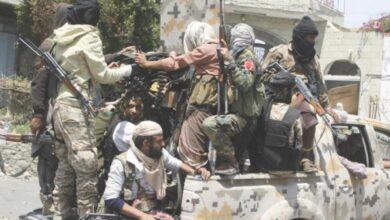 صورة تعز.. قتلى وجرحى إثر مواجهات شرسة بين فصائل الإخوان