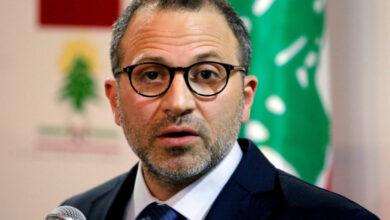 صورة عقوبات أميركية على وزير الخارجية اللبناني الأسبق جبران باسيل
