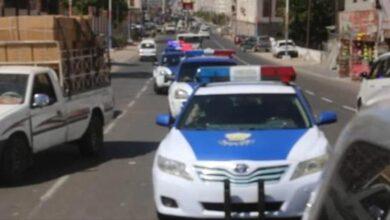 صورة لمنع المظاهر المسلحة ومكافحة #الجريمة.. دوريات متحركة في العاصمة #عدن