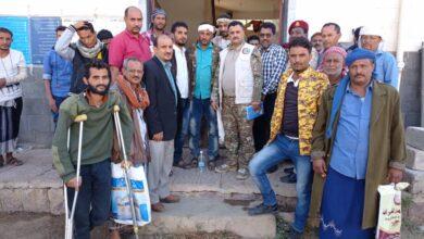 صورة #الضالع ..فريق طبي من الدائرة الصحية للدعم والإسناد يستقبل 108″ حالة جرحى بينها 13حالة طوارئ