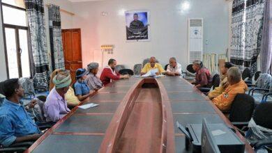 صورة اللجان المجتمعية في #دار_سعد  تعقد اجتماعا برؤساء الاحياء في منطقة البساتين وبئر فضل
