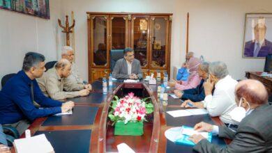 صورة لتعزيز القدرات الصحة والطبية بـ #عدن.. لملس يبحث مع مجلس التخصصات الطبية فتح المساقات الدراسية غير المتوفرة