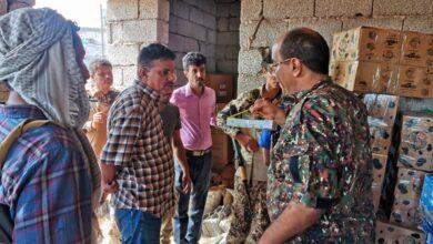 صورة #عدن.. ضبط كميات كبيرة من الأدوية  المهربة في احد الأحواش  بـ #دار سعد