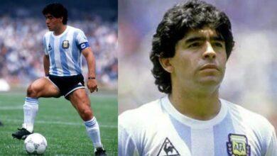 صورة وفاة الأسطورة الأرجنتينية لكرة القدم #مارادونا