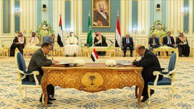 صورة تحذير سعودي للإخوان من مغبة الاستمرار في عرقلة تشكيل الحكومة وتنفيذ اتفاق الرياض