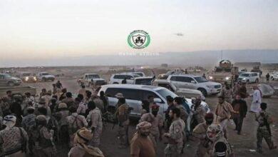 صورة برعاية سعودية .. عملية تبادل أسرى بين القوات المسلحة الجنوبية والقوات المحسوبة على الحكومة اليمنية