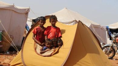 صورة نزوح 186 ألف يمني جراء التصعيد الحوثي