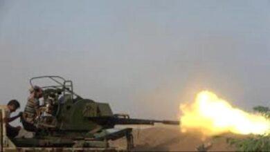 صورة أبين .. القوات الجنوبية توجه ضربات موجعة لمليشيا الإخوان في وادي سلا والطرية