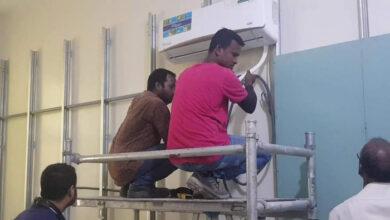 صورة انطلاق مرحلة جديدة من التطوير والتوسعة لمستشفى الشيخ خليفة بن زايد بسقطرى