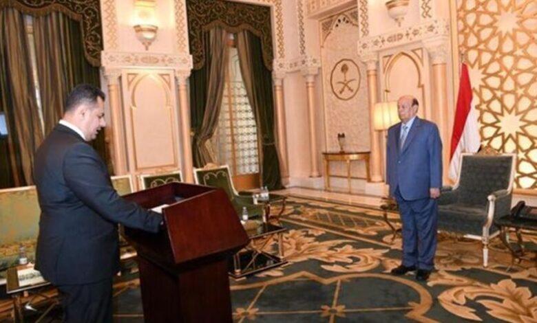 ترجيحات بأداء الحكومة الجديدة لليمين الدستورية أمام الرئيس هادي اليوم1