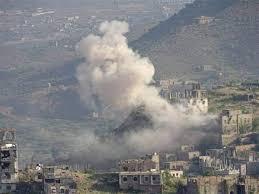 صورة إصابة 3 أطفال بقصف حوثي استهدف حي سكني في #تعز( أسماء)