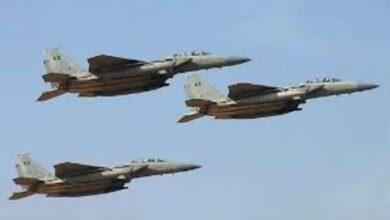 صورة مقاتلات التحالف تدمر منصتي إطلاق صواريخ باليستية لمليشيا الحوثي في صنعاء