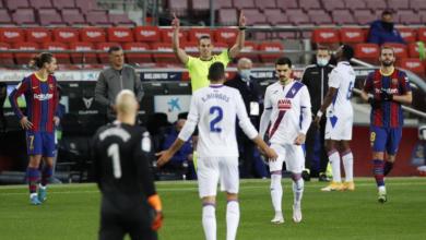 صورة برشلونة يتعادل أمام إيبار تحت أنظار ميسي