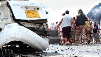 صورة صحيفة دولية: استهداف الحزام الأمني في لودر يخدم الفرع اليمني من جماعة الإخوان المسلمين