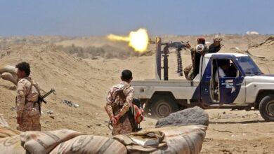 """صورة """"النقيب"""" ينفي انسحاب لجنة التحالف العربي من جبهة أبين"""