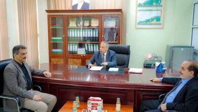 صورة #عدن.. لملس ورئيس مجلس #القضاء يؤكدان على اهمية دور القضاء في تطبيع الأوضاع في #العاصمة