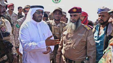 صورة القائد العام لقوات الدعم والإسناد : انسحاب واخراج قواتنا تتواصل بسلاسة لليوم الثالث على التوالي في عدن وأبين