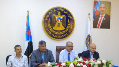 صورة بمشاركة الجعدي وهيثم.. لقاء مشترك بين دوائر الأمانة العامة وتنفيذية انتقالي العاصمة عدن