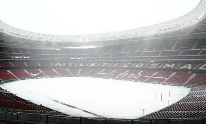 تأجيل مباراة أتلتيكو مدريد وأتلتيك بلباو في الدوري الإسباني
