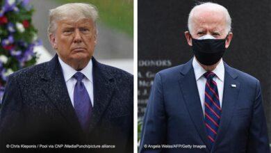 صورة ترامب يعلن عدم حضوره مراسم تنصيب بايدن رئيسا لأمريكا