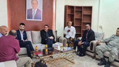 صورة مدير أمن عدن يؤكد الاستعداد لتقديم الدعم الأمني للمنظمات العاملة في العاصمة عدن