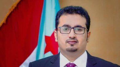 صورة مطالباً اللجنة السعودية بالتدخل.. العولقي: التصعيد الإخواني في شقرة يهدد اتفاق الرياض وسلاسة تنفيذ بقية بنوده