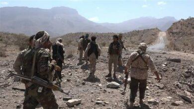 صورة القوات الجنوبية تغير على مواقع مليشيا الحوثي شمال الضالع وسقوط قتلى وجرحى