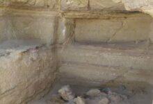 صورة اكتشاف مقبرة أثرية عمرها 2500 عام في #حضرموت