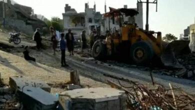 """صورة إصابة شاب وطفلين بجروح خطيرة جراء انفجار لغم حوثي شرق تعز اليمنية"""" أسماء"""""""