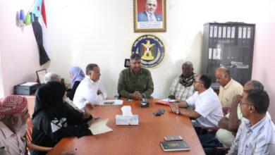 صورة #عدن.. هيثم يترأس الاجتماع الدوري لتنفيذية انتقالي #التواهي