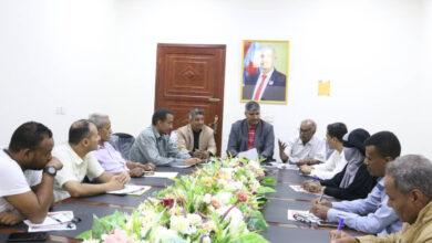 صورة الدائرة الإعلامية بالانتقالي تعقد أول اجتماعاتها مع الإدارات الإعلامية في العاصمة عدن