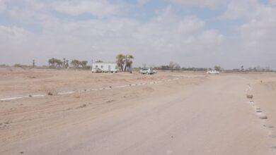 صورة باراس يوجه بوقف عملية تخطيط  عشوائي بمنطقة جعولة بمديرية #دار_سعد