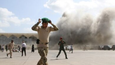صورة وزير الخارجية بحكومة المناصفة يدعو مجلس الأمن لإدانة الهجوم الإرهابي على مطار عدن