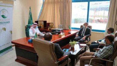 صورة مكتب سلمان للإغاثة بعدن يناقش مع اليونيسيف سير المشاريع المشتركة في اليمن