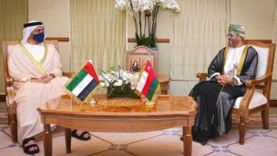 صورة مشاورات إماراتية عمانية للبحث عن حلول سياسية للأزمة اليمنية