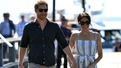 صورة الأمير البريطاني هاري والدوقة ميجان ينتظران طفلهما الثاني