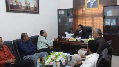 صورة وزير التربية والتعليم يطلع على الأوضاع التربوية والتعليمية بمحافظة #أبين