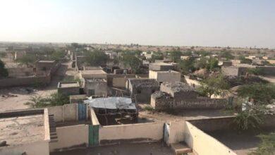 صورة #الحديدة اليمنية #مليشيا_الحوثي تستهدف منازل المواطنين في #حيس