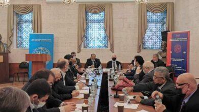 صورة الرئيس الزبيدي يلتقي رئيس لجنة الشؤون الدولية بمجلس النواب الروسي (الدوما)