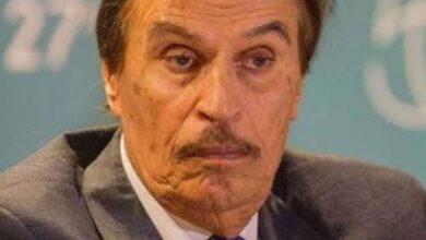 صورة وفاة الفنان المصري #عزت_العلايلي