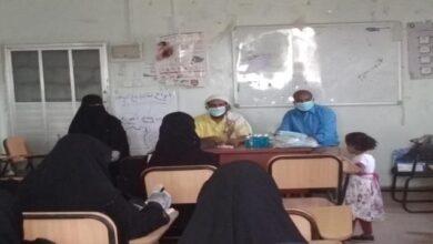 صورة لحج: مكتب الصحة بحالمين يقيم دورة تدريبية لمنفذات حملة التحصين ضد الكزاز