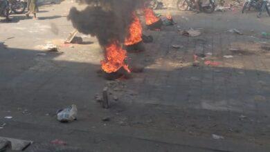 صورة لحج.. تجدد الاحتجاجات المنددة بتدهور الخدمات والمطالبة برحيل المحافظ